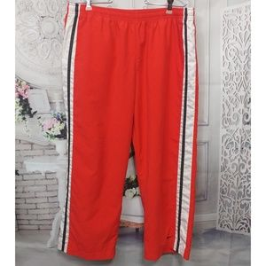 Nike Red Striped Cropped Pant 16-18